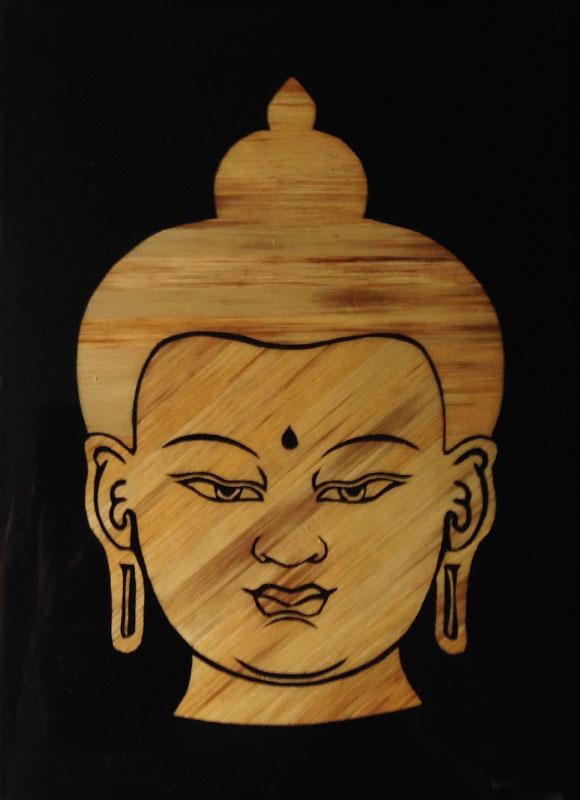 BF-1(Buddha-Face)9.5×7