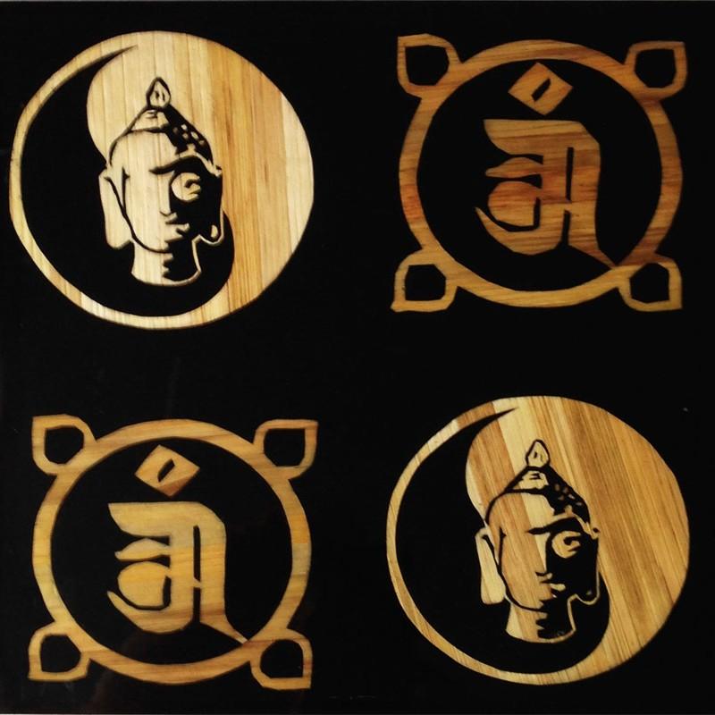 BHS-1-Om(Buddha-Head-Om)8×8