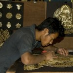 Wheat Stem Buddhist Art from Kathmandu Valley and Himalayas of Nepal, hand made by former street youth -